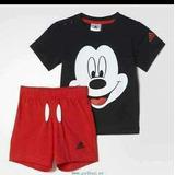 Conjunto adidas Mickey Para Bebés Y Chicos