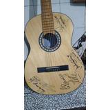 Guitarra Criolla Luthier Sotelo Autografiada Por La Renga