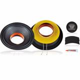 Kit Com Reparo Auto Falante Oversound Mg12 400w 8ohms 12 Pol