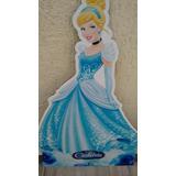 Kit 7 Cinderela Princesa Disney Decoração De Festa Infantil