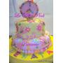Tortas Decoradas Infantiles Simbolo De La Paz Hippy Chic