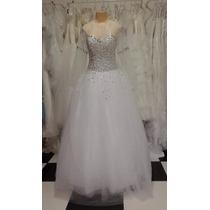 Vestido De Noiva Luxuoso Menor Preço Promoção Frete Grátis