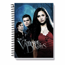 Caderno 10 Matérias The Vampire Diaries
