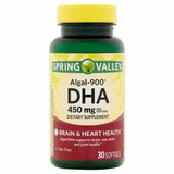 Algal-900 Dha 450mg 30 Cápsulas Spring Valley