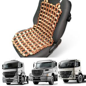 Encosto Assento De Bolinhas Madeira Massagem Para Ônibus
