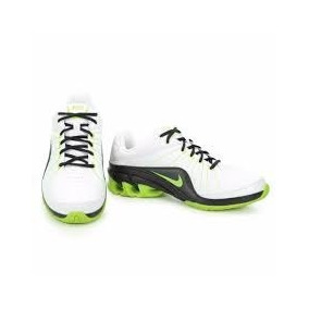 Tenis Nike 599106 102 Branco/preto/verde Impax Atlas 4sl