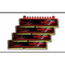 Memória G.skill Ripjaws 8gb 4x2gb 240p Ddr3 1600 Mhz