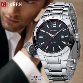 Relógio Prata Inox Totalmente Funcional Masculino ( Cuiabá )