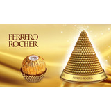10 Caixas Cubo Bombons Ferrero Rocher 6 Unid!!! Atacado