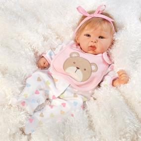 Boneca Bebe Reborn Happy Teddy