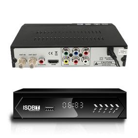 Conversor Tv Digital Hd Set Top Box Receptor Hdmi Rca