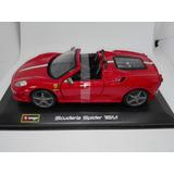 Perudiecast Bburago Ferrari Scuderia Spider 16m Escala 1.32