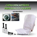 Capa Plástica Descartável Proteção Bancos 200 Un. *c/ Brinde