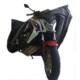 Capa Para Cobrir Moto Térmica Lom Fz25, Cb Twister250, Cb300