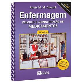 Cálculo E Administração Medicamentos 14ª Ed. Frete R$ 12,00