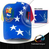 Gorra Tricolor 4f Con La Firma De Chavez En La Visera