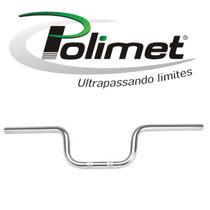 Guidão Polimet Cromado Cg 125 Titan/ Fan 150 2014 Em Diante
