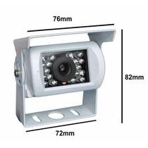 Mini Camera De Segurança 18 Leds 800l Prova D Agua Noturna