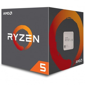 Box Processor Amd Ryzen 5 1600 Am4 6 Núcleos 3.2 Ghz