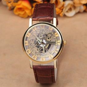 Reloj Skeleton A Pila Unisex