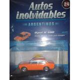 Autos Inolvidables. Opel K-180 1974. Escala 1:43.