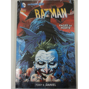 Hq-batman:dc Comics:faces Da Morte:capa Dura:os Novos 52!