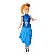 Donna - Azul Com Glitter - Bonecas Artesan