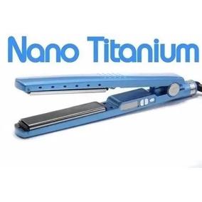 Chapinha Prancha Profissional Nano Titanium Até 450ºf Azul