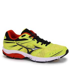 Tênis Running Masculino Mizuno Wave Zest - Amarelo
