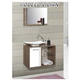 muebles para bao minimalista modernos con su espejo