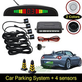 1set Car Led Parking Kit Display 4 Sensores Para Todos Lo...
