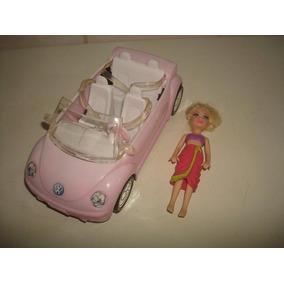 Lindo Carrinho Da Boneca Barbie + Brinde - Mattel 2009
