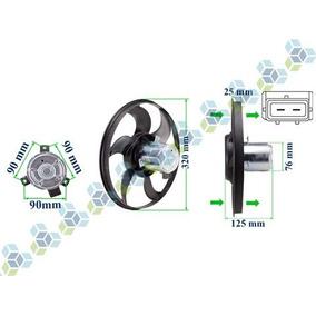 Eletroventilador 12v Gol G2 G3 8v 16v G4 1.0 1.6 1.8 Sem Ar