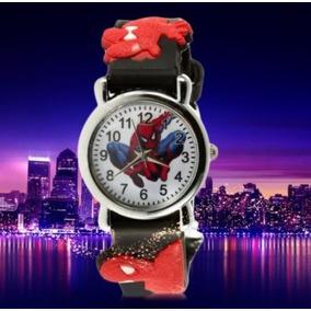 Reloj 3d Hombre Araña P/niño