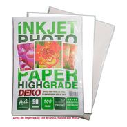 Papel Sublimatico Fundo Rosa A4 90g 100 Folhas Deko Inkjet