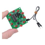 Kit Electrónico Educativo Ruleta Giratoria Cd4017  Ne555