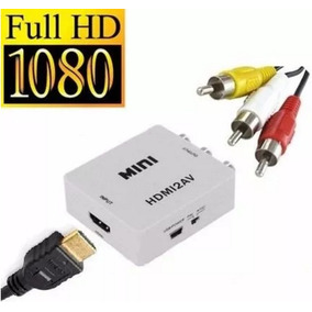 Convertidor Video Hdmi A Rca Av Tv Antigua Inc Iva Y Garanti