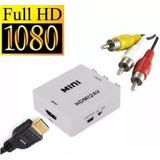 Convertidor Hdmi A Av Rca Para Laptop (hdmi ) A Tv (rca)