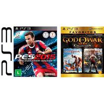 Jogos Pes 15 2015 E God Of War Midia Fisica Lacrados Nf