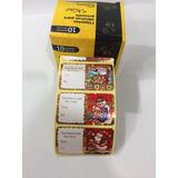 Rolo De Etiquetas Adesivas Para Presentes Natal C/60 Unidade