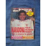 Revista Don Balón Maradona Sevilla 1992 De Colección