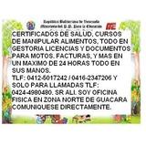 Manipulador De Alimentos Y Salud.