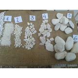 Piedra Blanca Jarrones Canteros Macetas Decoracion 10 Kg