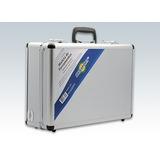 Maleta Aluminio Media Forrada C/divisória E Trava Multiuso