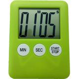 Timer Digital De Cozinha C/ Imã - Cronômetro - Bt Col - Vd