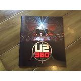 U2 360 2011 Concert Tour Program Souvenir Book Coleccion