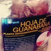 2 Bolsas Hoja Seca Guanabana De 100 Gr Para Te 2 Meses Usar