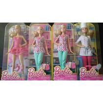 Barbie Enfermera O Patinadora Original Nueva