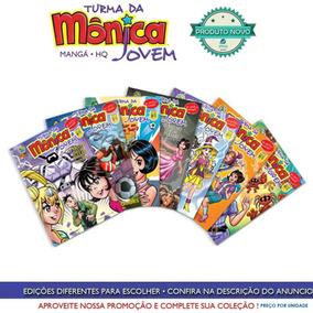 Revista Turma Da Monica Jovem Manga Varias Ediçoes Novas