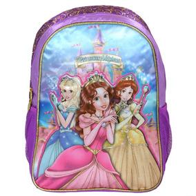 Mochila Princesas Magicas Escola Material Escolar Menina